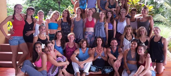 Costa Rica 200 Hour 1 month Immersion Yoga Teacher Training with Jackie Chiodo