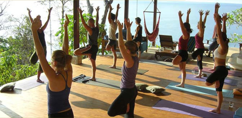Yoga Teacher Training On The Oceanview Yoga Decks