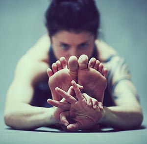 Yoga teacher Renee Sills