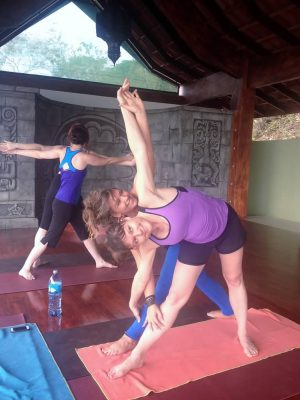 Yoga Class at Anamaya Resort