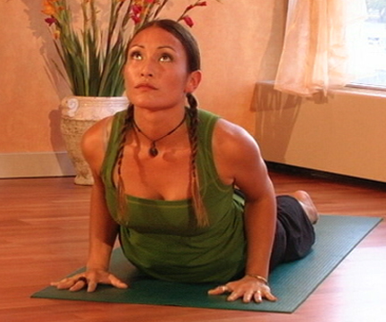 Cobra Pose - Bhujangasana via flckr https://www.flickr.com/photos/myyogaonline/457353949/i