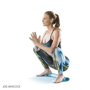 Yoga Squat Pose (Malasana)