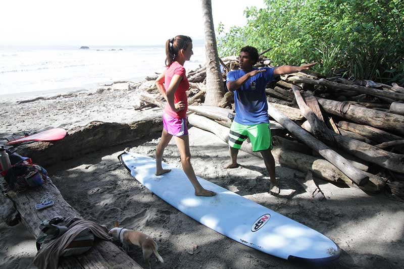 Costa Rica Surfing Lessons